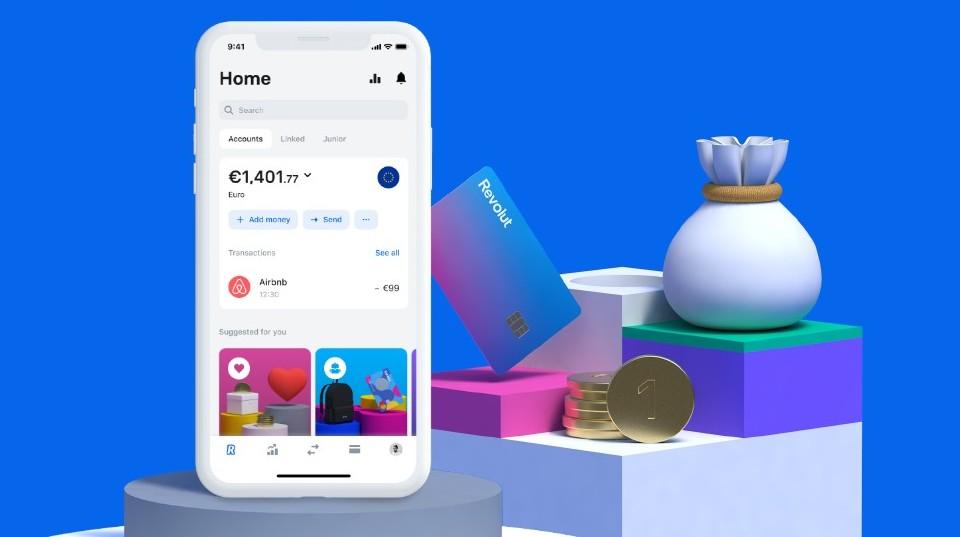 comisioanele revolut 7 app aplicatie bancara