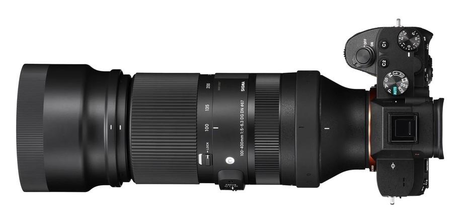 Sigma 100-400mm F5-6.3 DG DN OS Contemporary aparat foto mirrorless sony