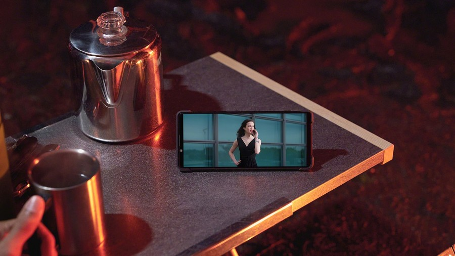 Sony Xperia 1 II smartphone performant