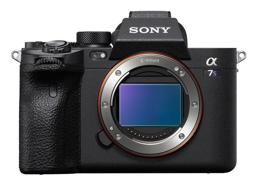 poza senzor full frame mirrorless Sony A 7S III