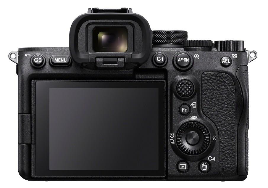 ecran aparat foto mirrorless sony Alpha 7S III