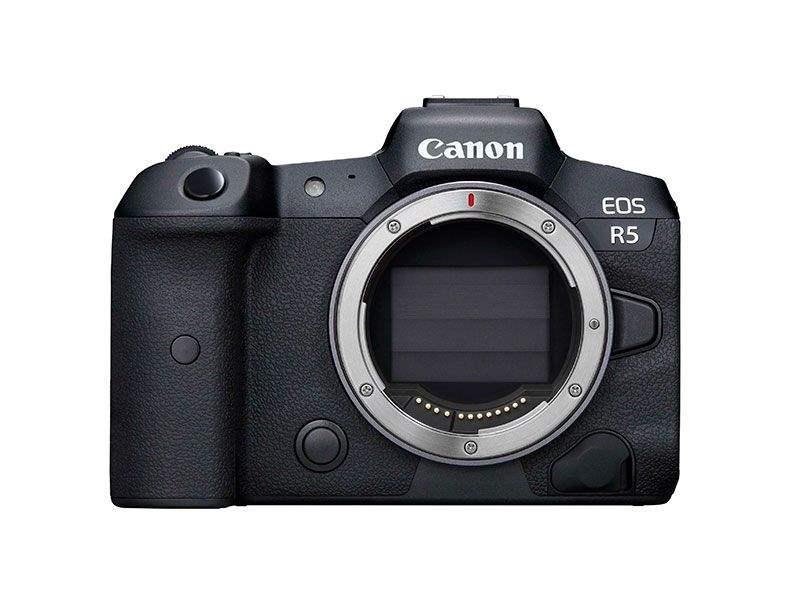 poza aparat foto mirrorless senzor full frame canon