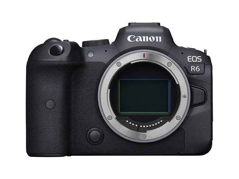 poza aparat foto mirrorless Canon EOS R6