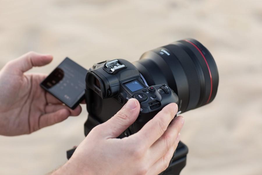 filmare aparat foto mirrorless