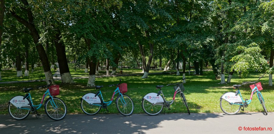 biciclete Citylink poza bike sharing bucuresti
