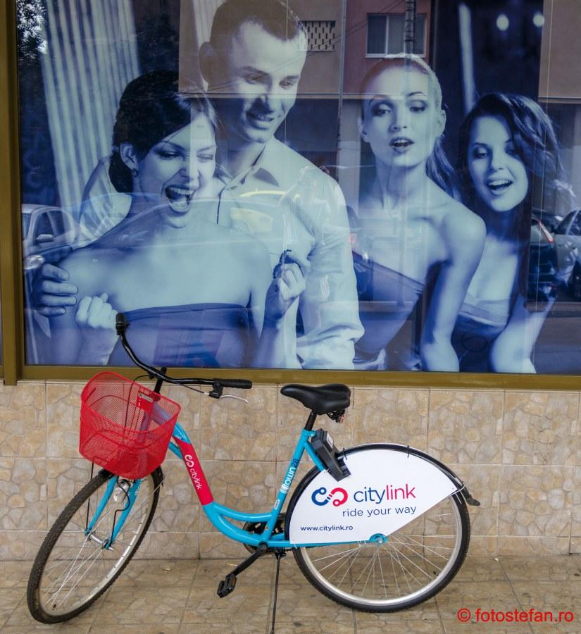 foto bicicleta citylink inchirieere bucuresti