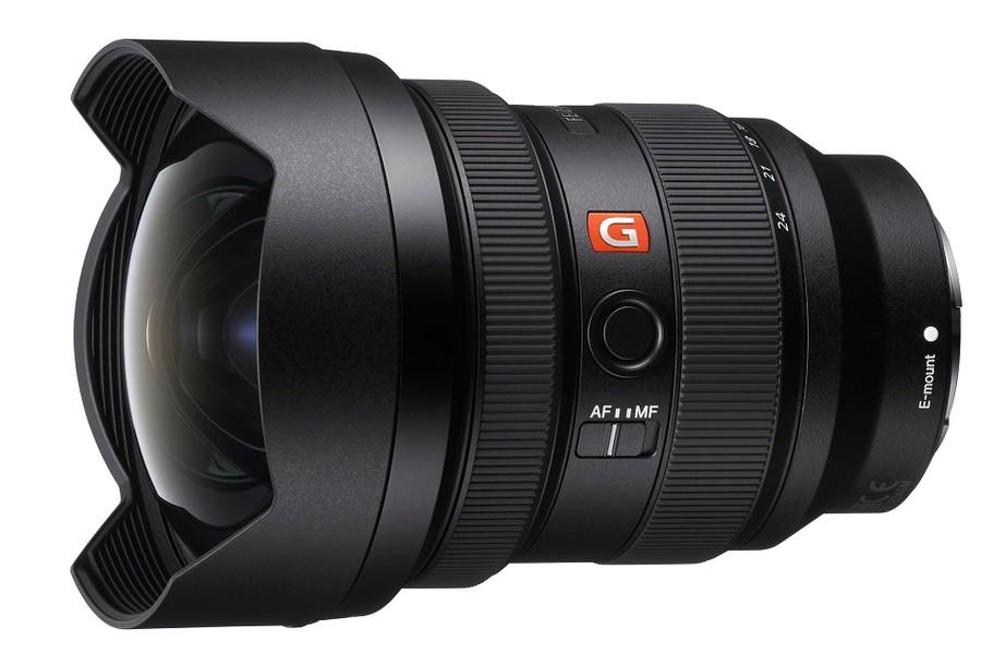 Sony FE 12-24mm F2.8 GM poza obiectiv wide aparat foto mirrorless