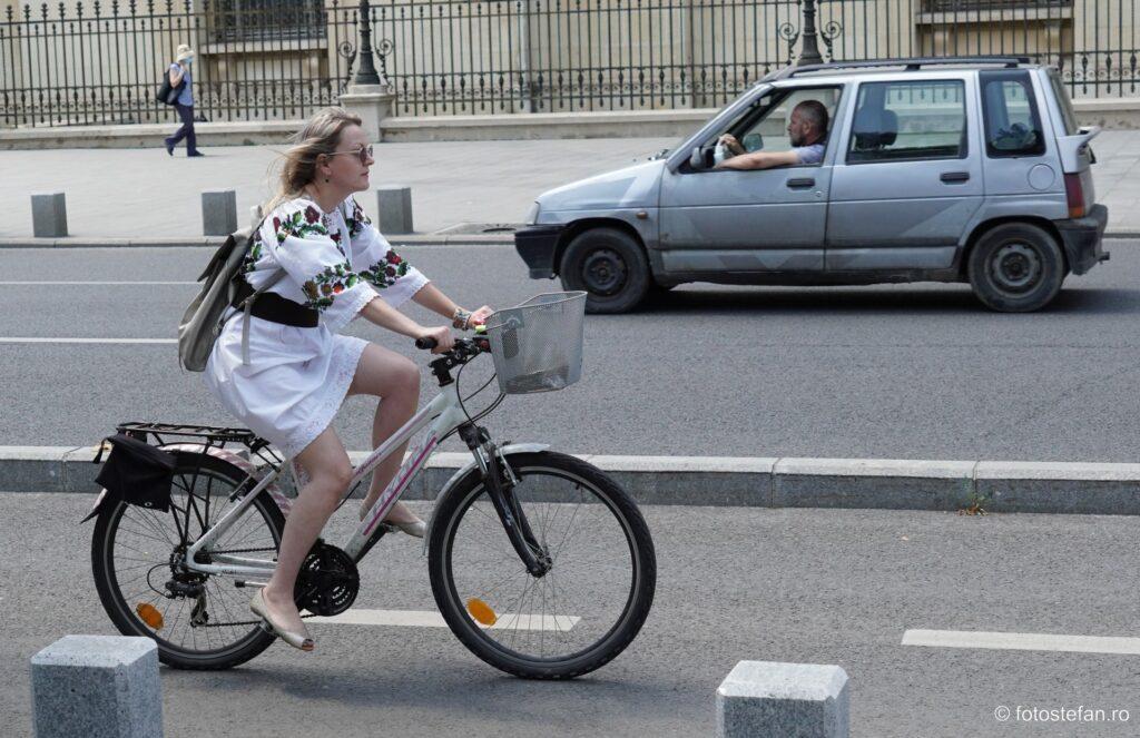 poza biciclista ie fotografie miscare