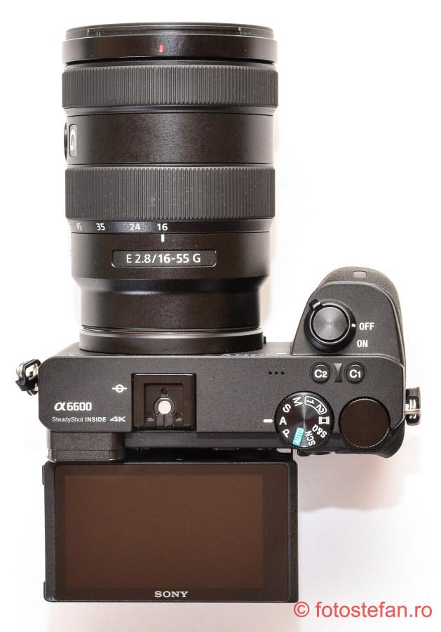 lcd rabatabil aparat foto mirrorless test
