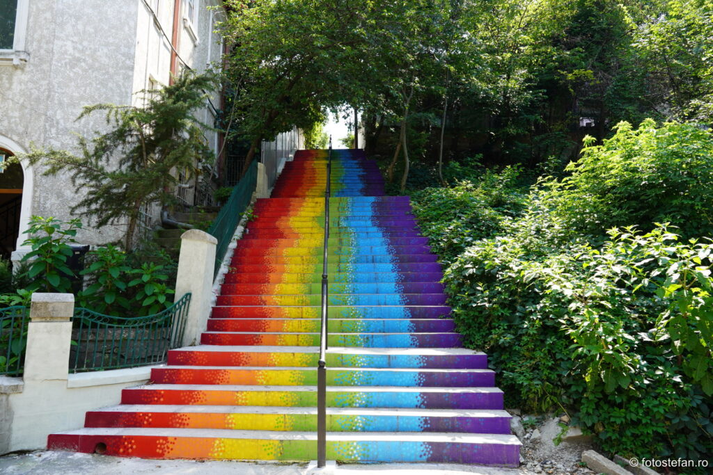 foto scari colorate bucuresti parc romniceanu cotroceni