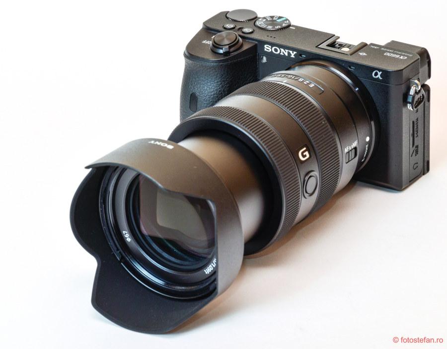 poza Sony 16-55mm f2.8 G sony a6600 test zoom