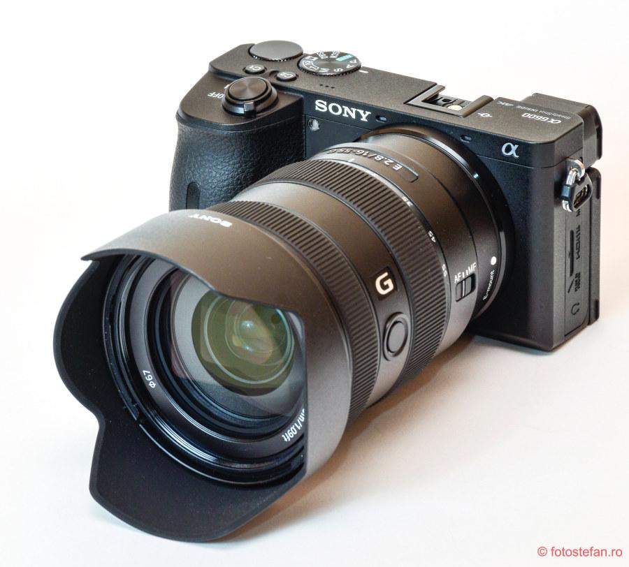 poza aparatura performanta sony camera obiectiv zoom