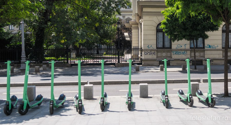 poza trotinete bolt bucuresti calea victorie mobilitate urbana