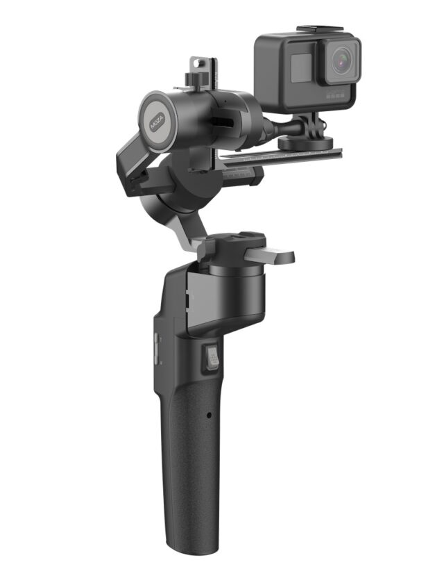 Moza Mini-P camera actiune stabilizator 3 axe pliabil