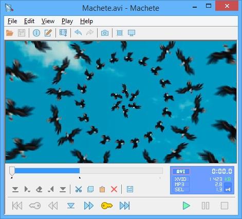 Machete Video Editor Lite software editare clipuri video