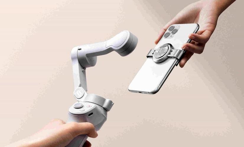 prindere magnetica DJI OM 4 stabilizator de imagine gimbal pentru telefon