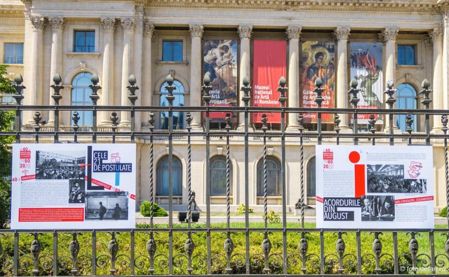 expozitie documentara calea victoriei bucuresti A 40-a aniversare a revoluției Solidaritatea