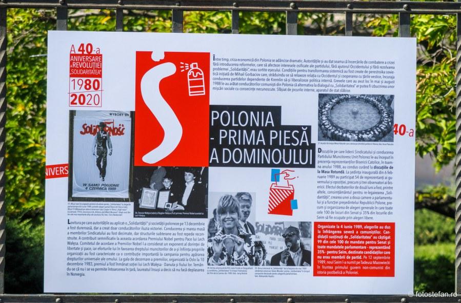 expoztie document istoric sindicat solidaritatea piata revolutiei bucuresti