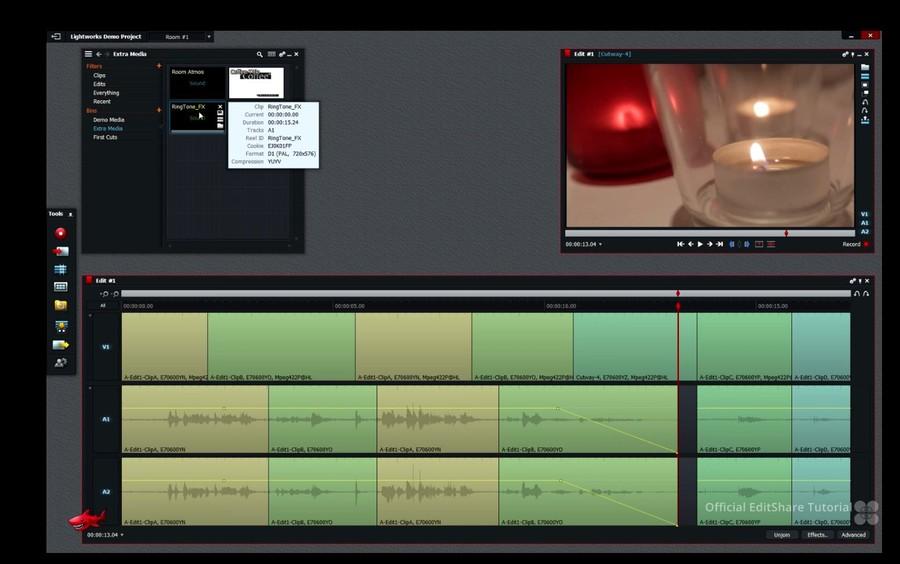 lightwork program profesional editare video gratuit