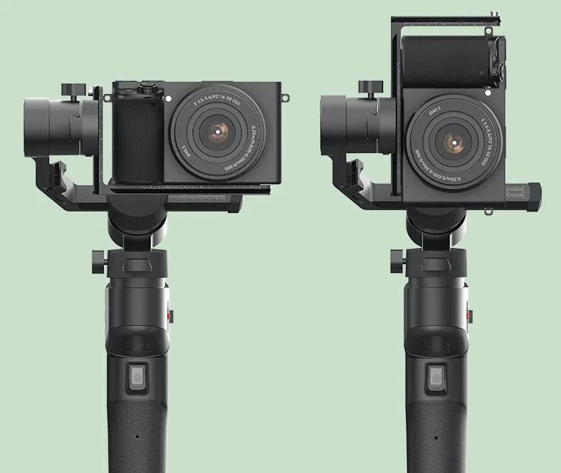 gimbal filmare vertical orizontal
