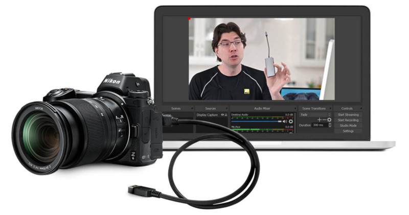Nikon Beta Webcam Utility aparat foto webcam
