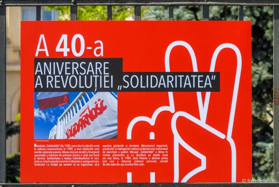 expozitie sindicat polonez solidaritatea bucuresti calea victoriei piata revolutiei