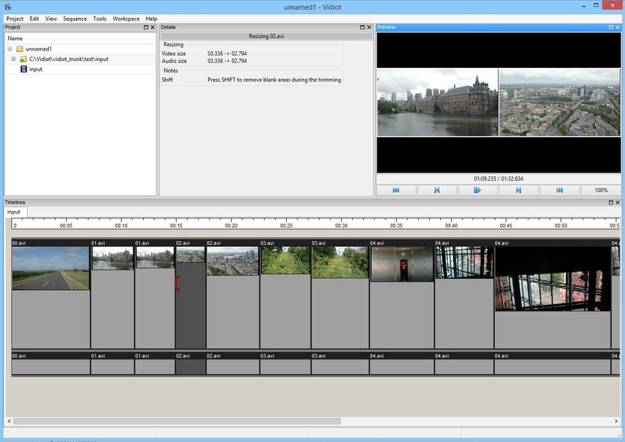 vidiot soft editare video gratis