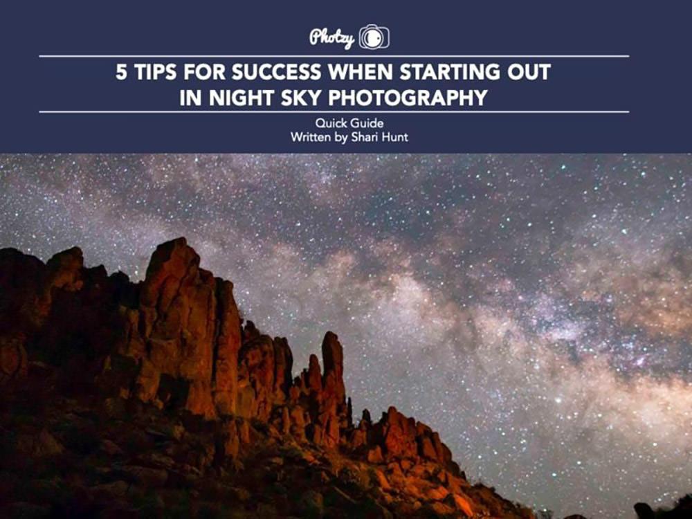 recomandari fotografierea cerului noaptea