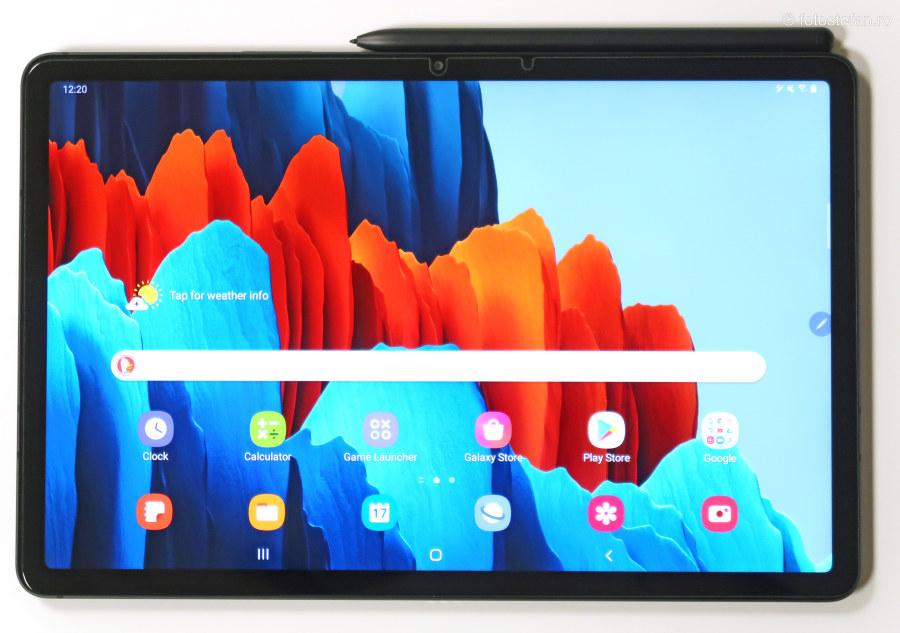 Samsung Galaxy Tab S7 review tableta 11 inch stylus