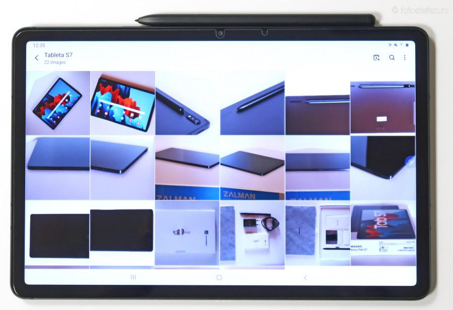 ecran lcd Galaxy Tab S7 test pareri