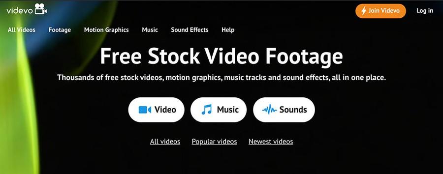 site videoclipuri stock gratuite vivedo