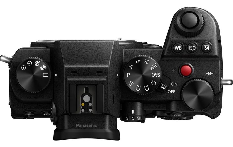 poza butoane Panasonic LUMIX S5 aparat foto mirrorless