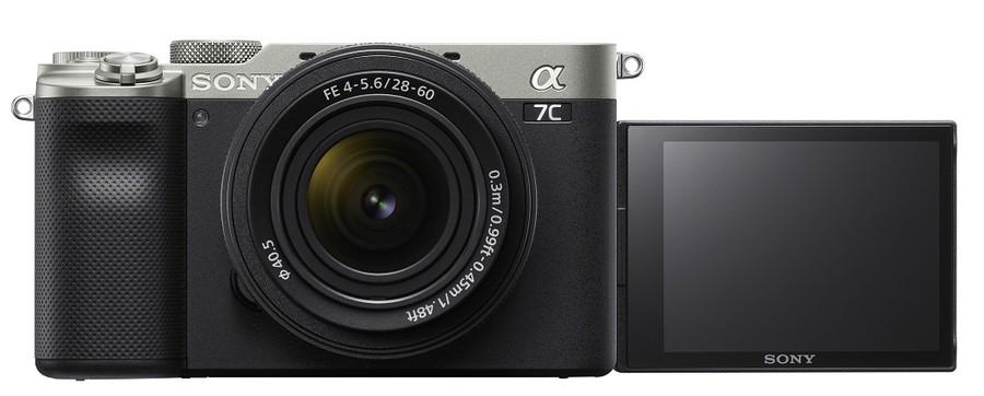 Sony A7C lcd selfie mirrorless full frame