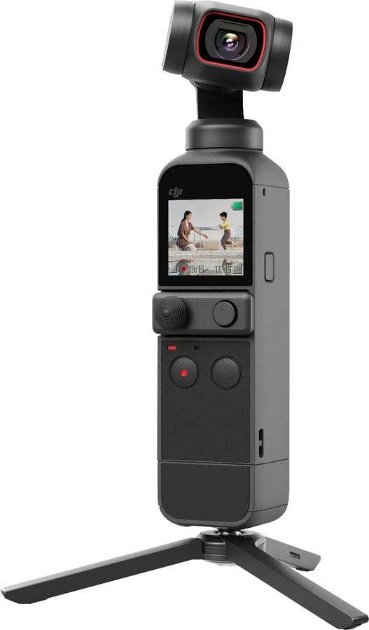 DJI Pocket 2 camera vlogging selfie gimbal 3 axe