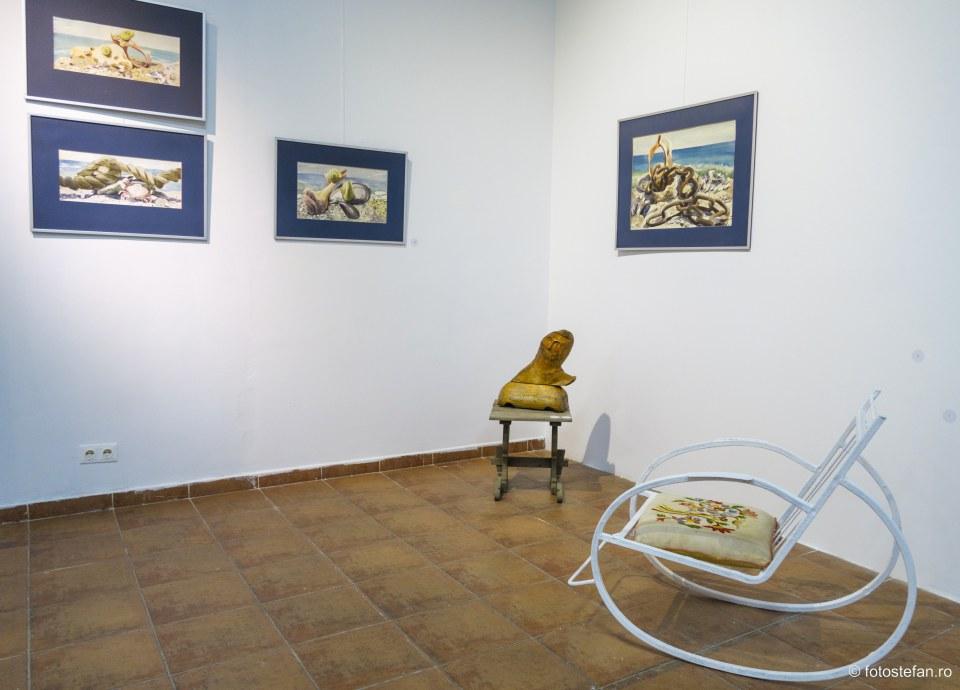 2 mai vama veche tablouri expozitie muzeul taranului roman bucuresti