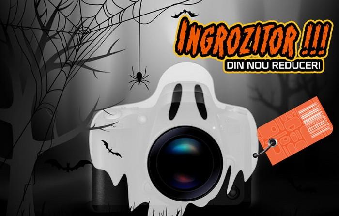 oferte de Halloween 2020 reduceri aparate foto video accesorii