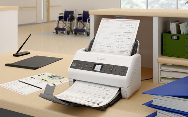 Epson WorkForce DS-730N scaner volum mare documente