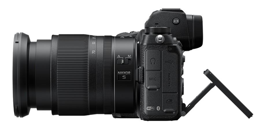 poza aparat foto mirrorless lcd mobil Nikon Z6 II Nikon Z7 II