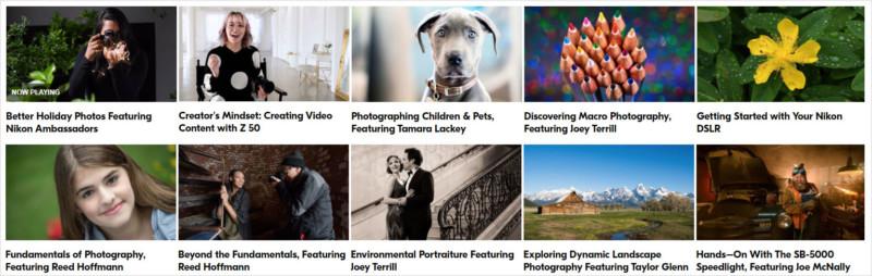 cursuri foto online gratuite gratis nikon
