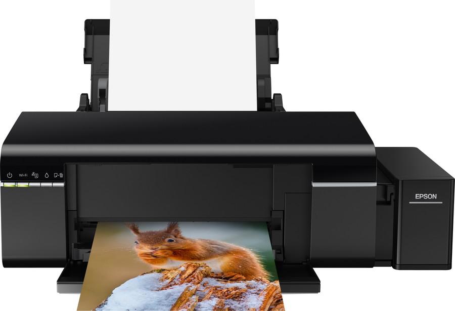 epson l 805 imprimanta foto multifunctional rezervor cerneala