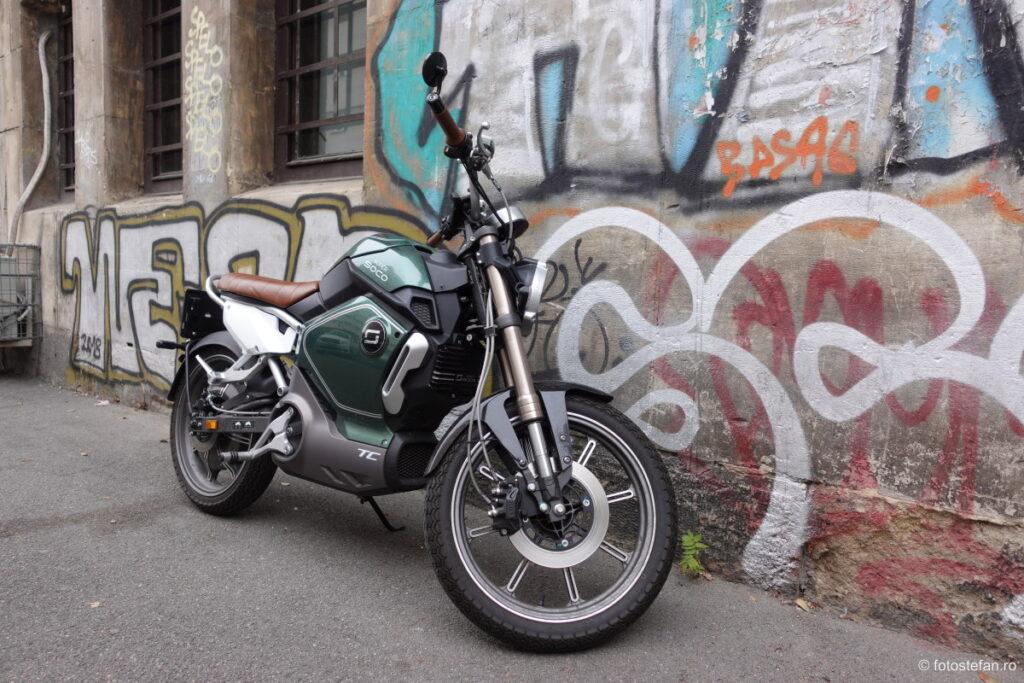 poza motocicleta electrica bucuresti