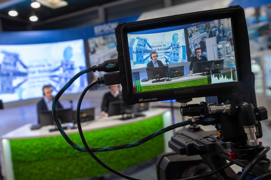 centru virtual de solutii industriale in Europa epson