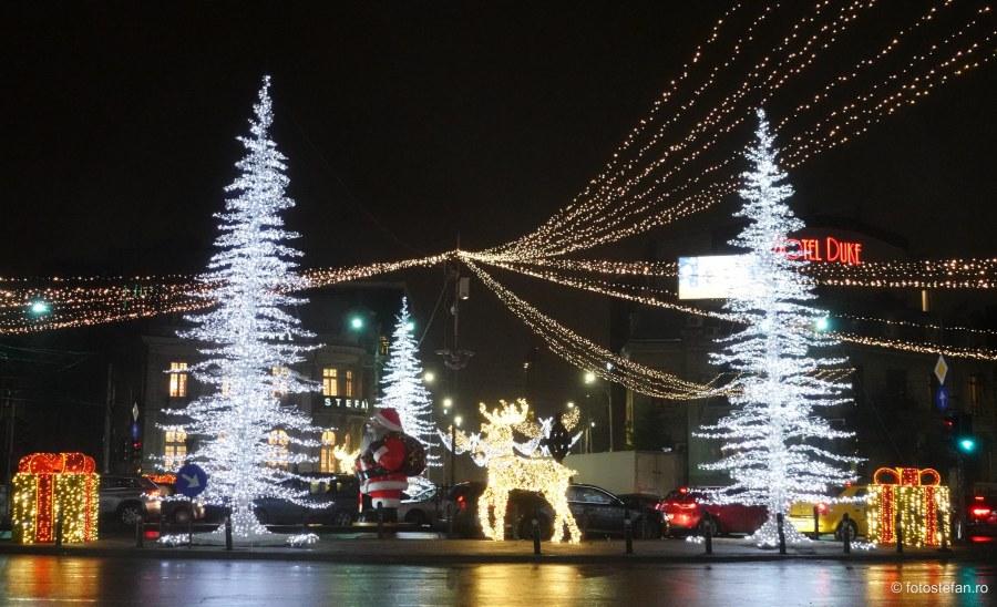 Luminite de Craciun Bucuresti 2020 poze fotografii seara romana