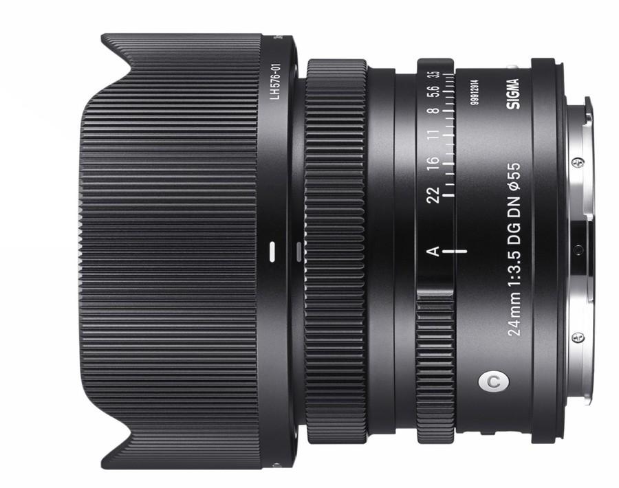 poza obiectiv SIGMA 24mm F3.5 DG DN