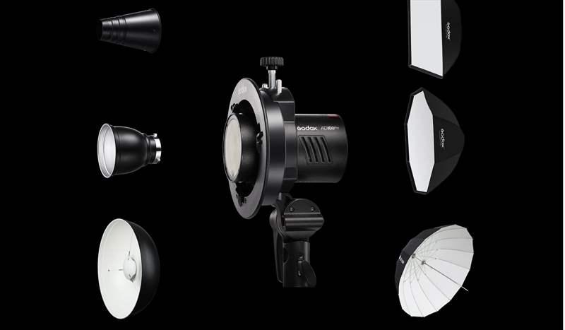 poza accesorii bowens blit Godox AD100 Pro sedinte foto