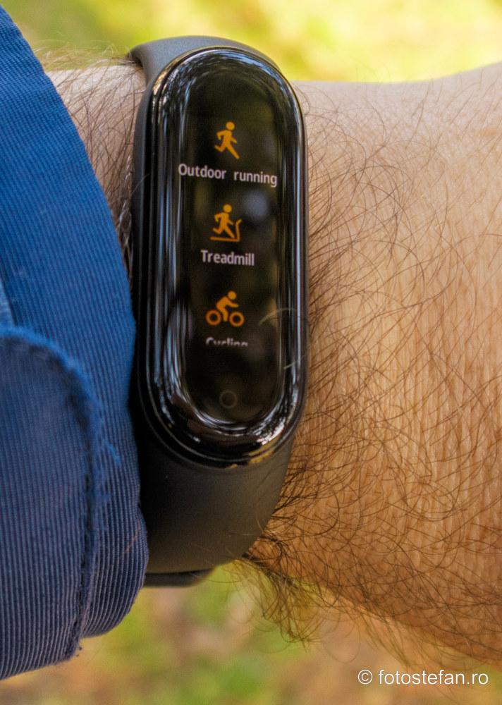 Mi Band 5 review bratara de fitness functii