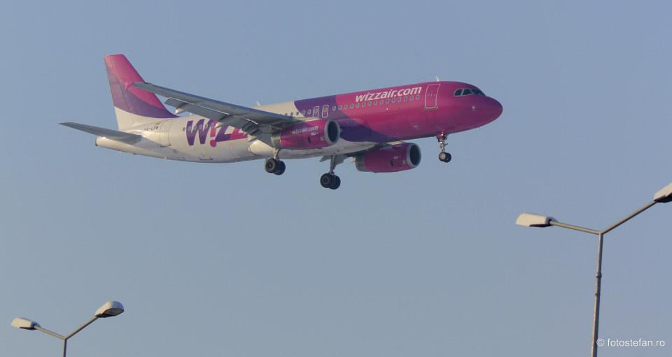 poza avion Wizz Air wizzair asigurare de calatorie covid 19