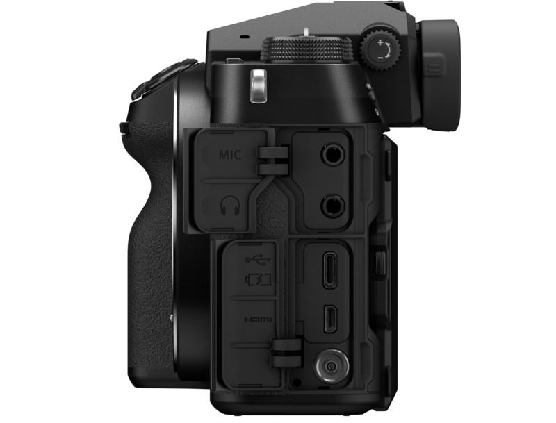 Fujifilm GFX 100S conexiuni poza port conectari aparat foto