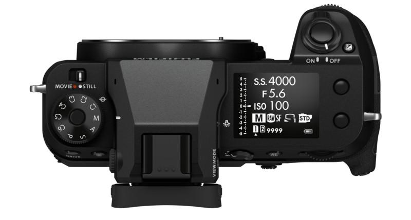 butoane aparat foto Fujifilm GFX 100S