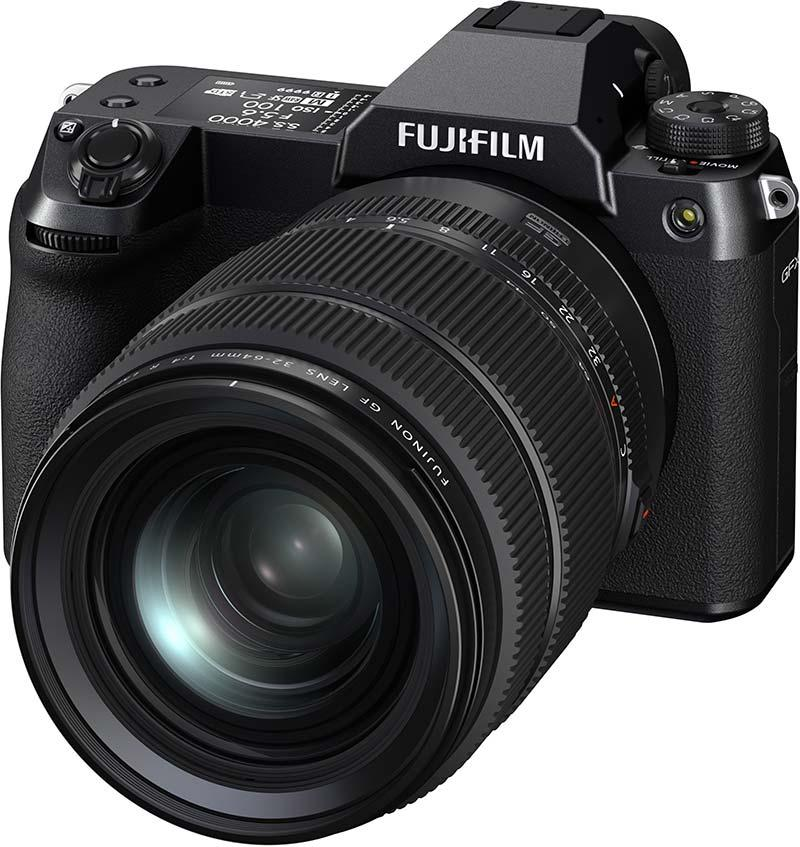Fujifilm GFX 100S poza aparat foto mirroless medium format 100 megapixeli